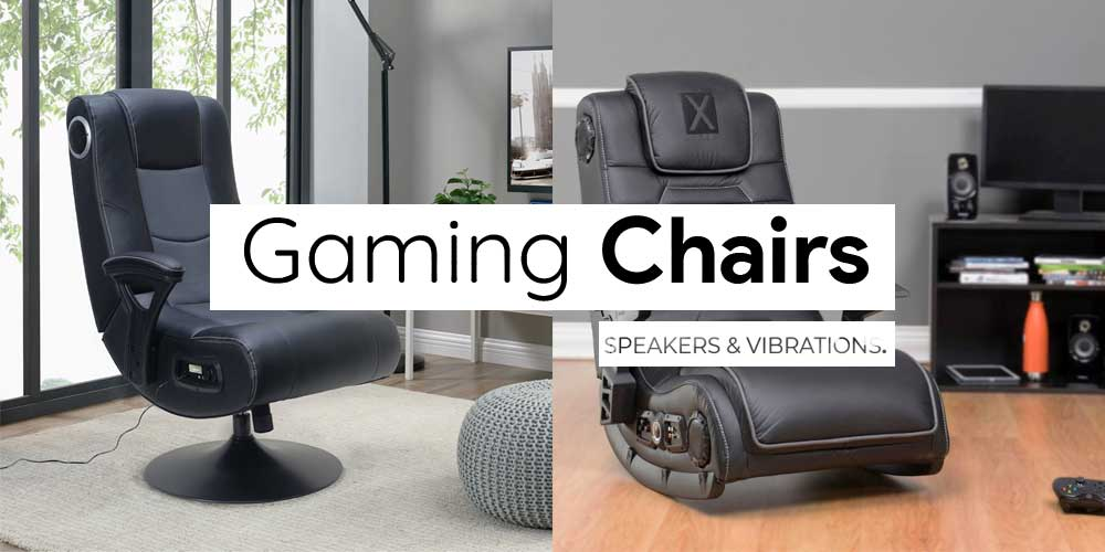 Best Gaming Chairs with Speakers and Vibration
