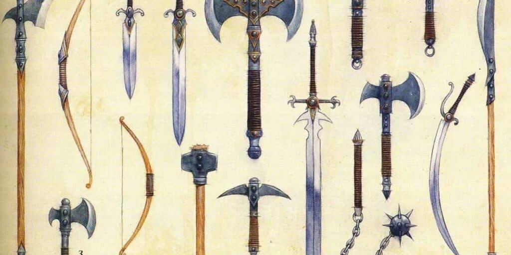 Weapon Enchantments 5E