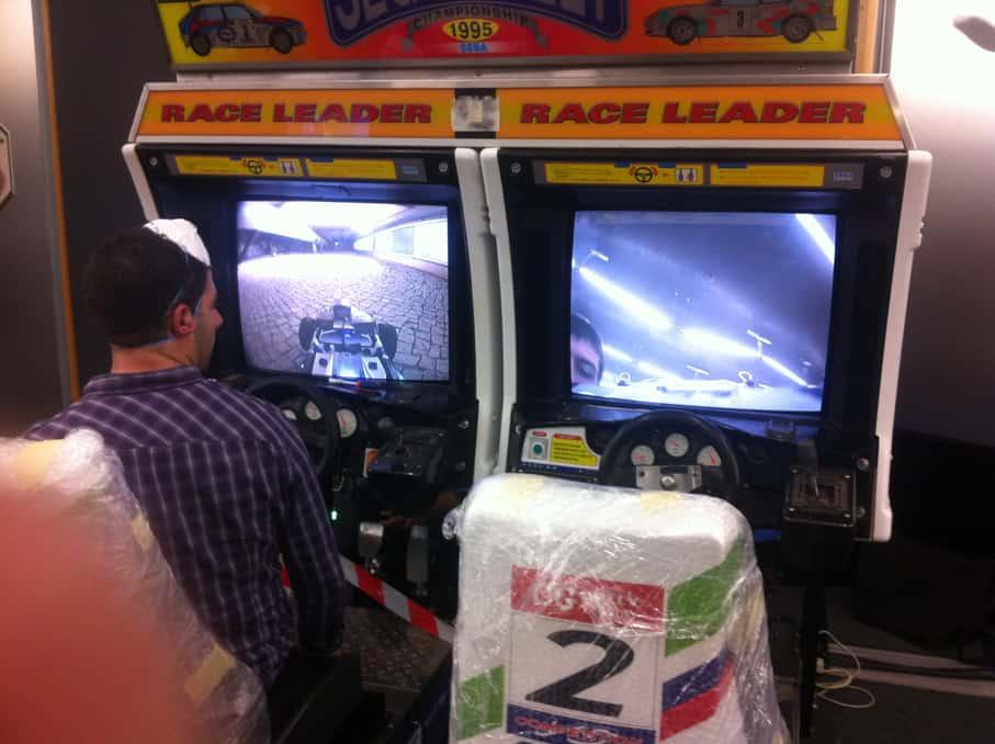 Sega Rally Console