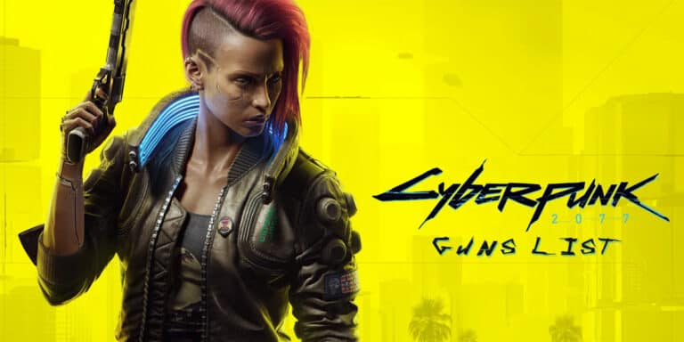 List Of Cyberpunk Guns