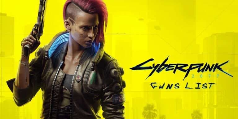 List Of Cyberpunk Guns