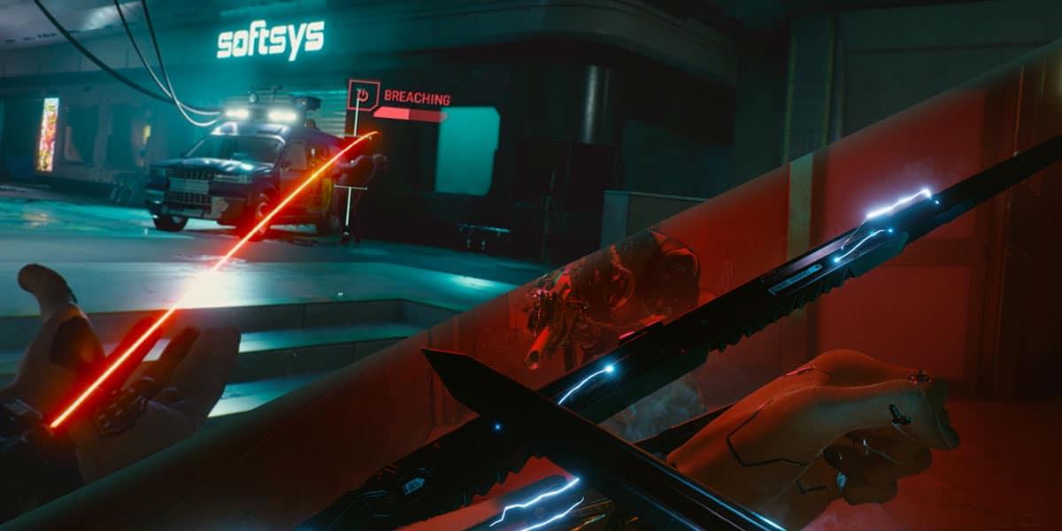 Cyberpunk 2077 Monowire Vs Mantis Blades