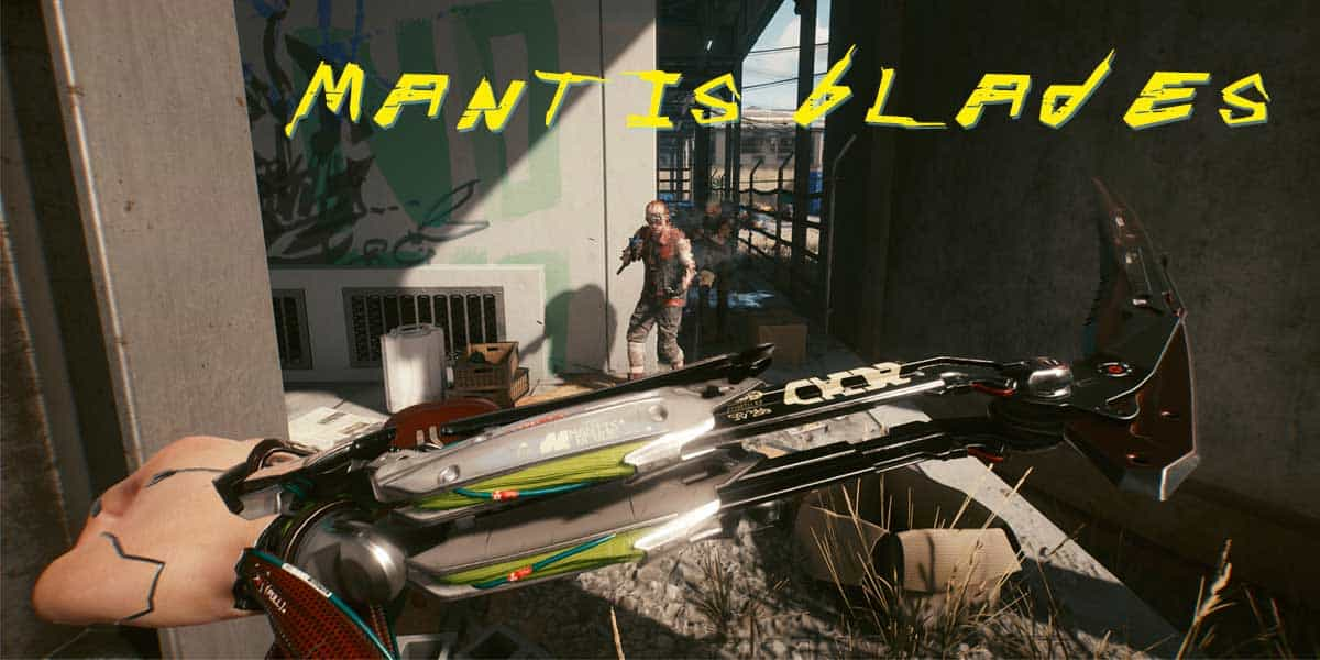 Mantis Blades in Cyberpunk 2077