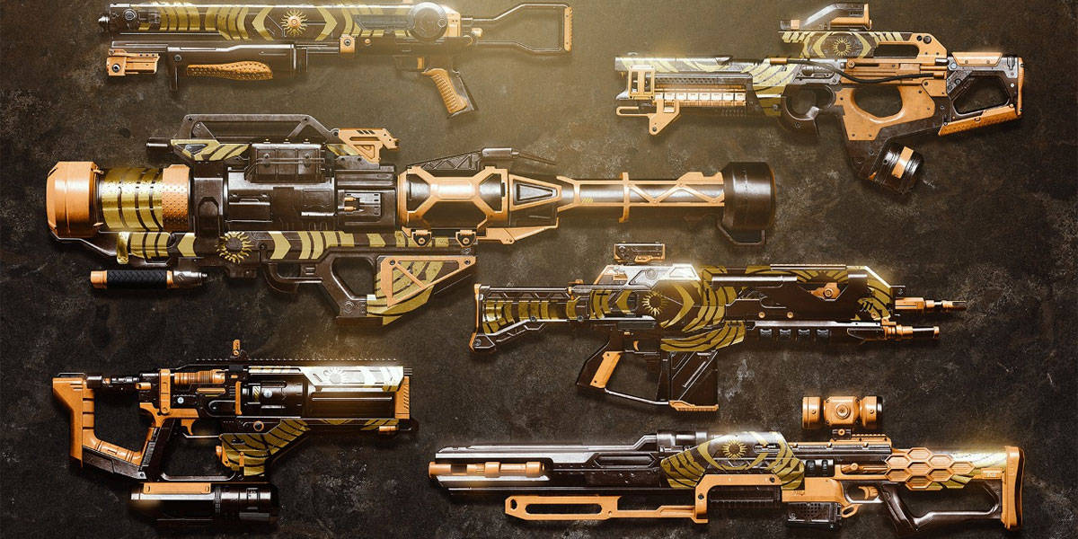 Destiny 2 Weapon Spreadsheet