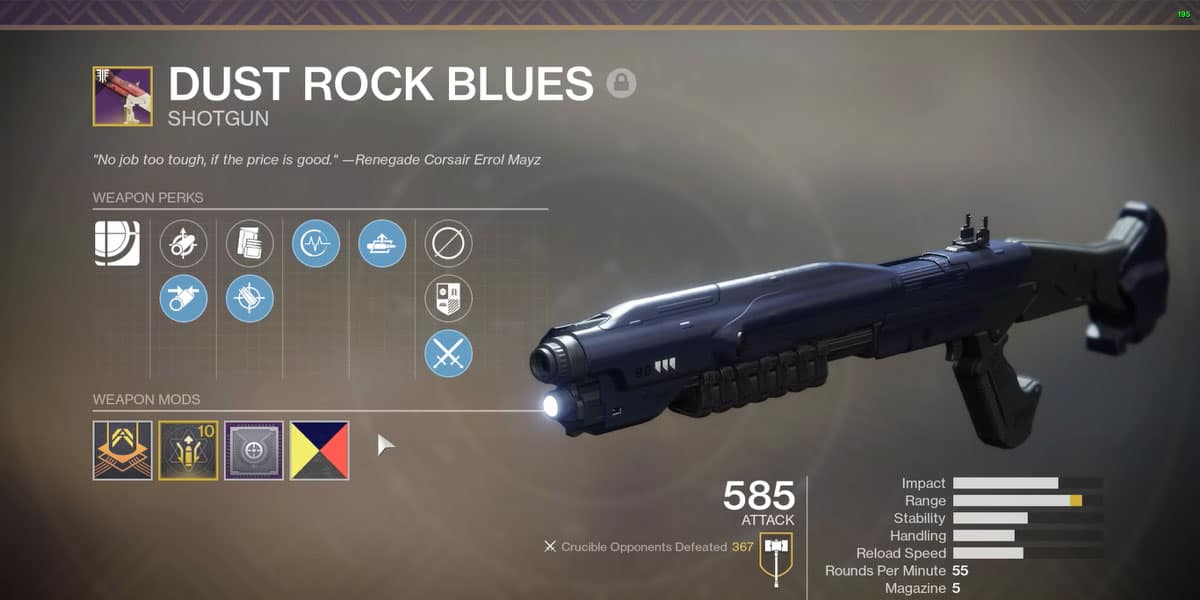 How To Get Dust Rock Blues In Destiny 2