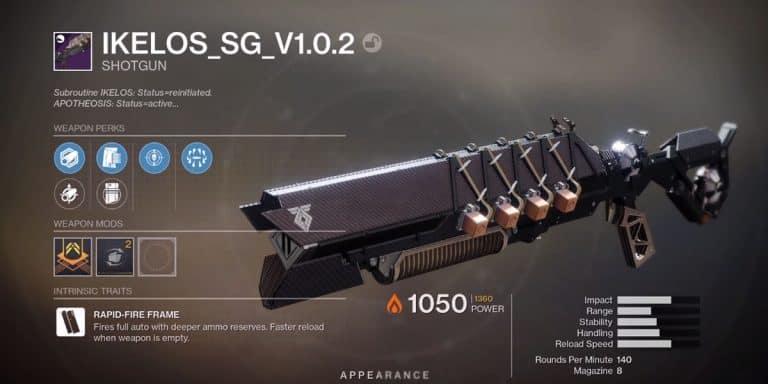 How to Get Ikelos Shotgun in Destiny 2?