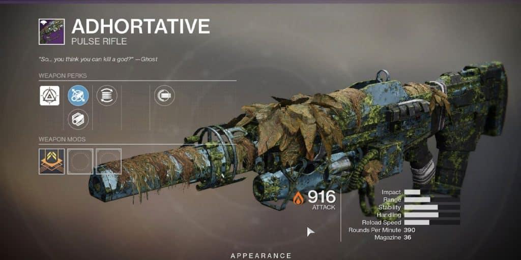 Adhortative Pulse Rifle
