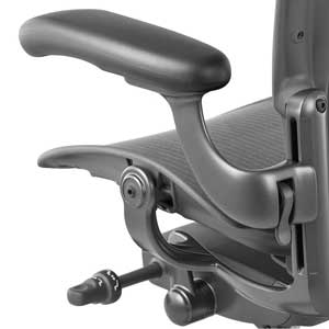 Aeron Chair Adjustable Armrest