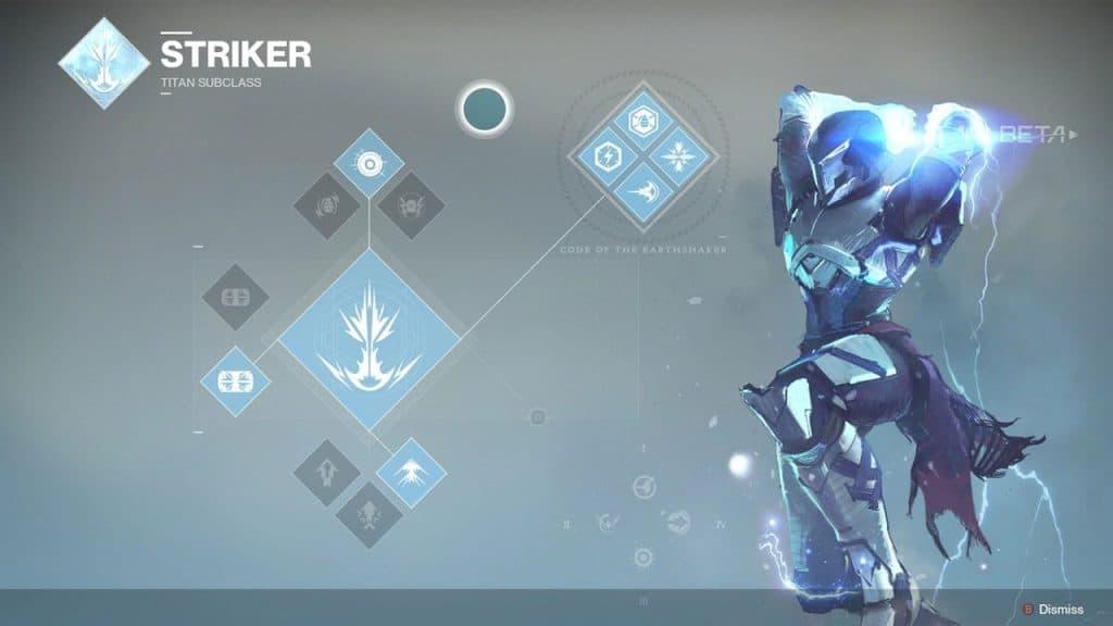 Code Of The Earthshaker (Top Tree Striker)