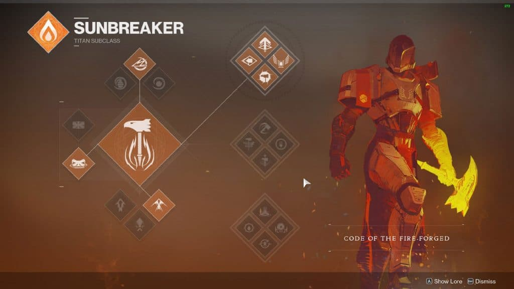Code Of The Fire-Forged ( Top Tree Sunbreaker )