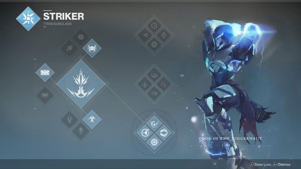 Code Of The Juggernaut ( Bottom Tree Striker )