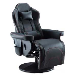 Depointer Life Ergonomic game chair with cup holder