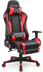 GTRACING Heavy Duty Gaming Chair for Short People with Bluetooth Speakers