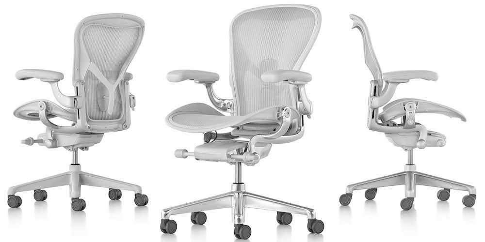 Herman Miller Classic Aeron Task Chair Durable Design