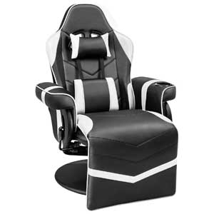 Homall Racing Style Game Chair with Cup Holder