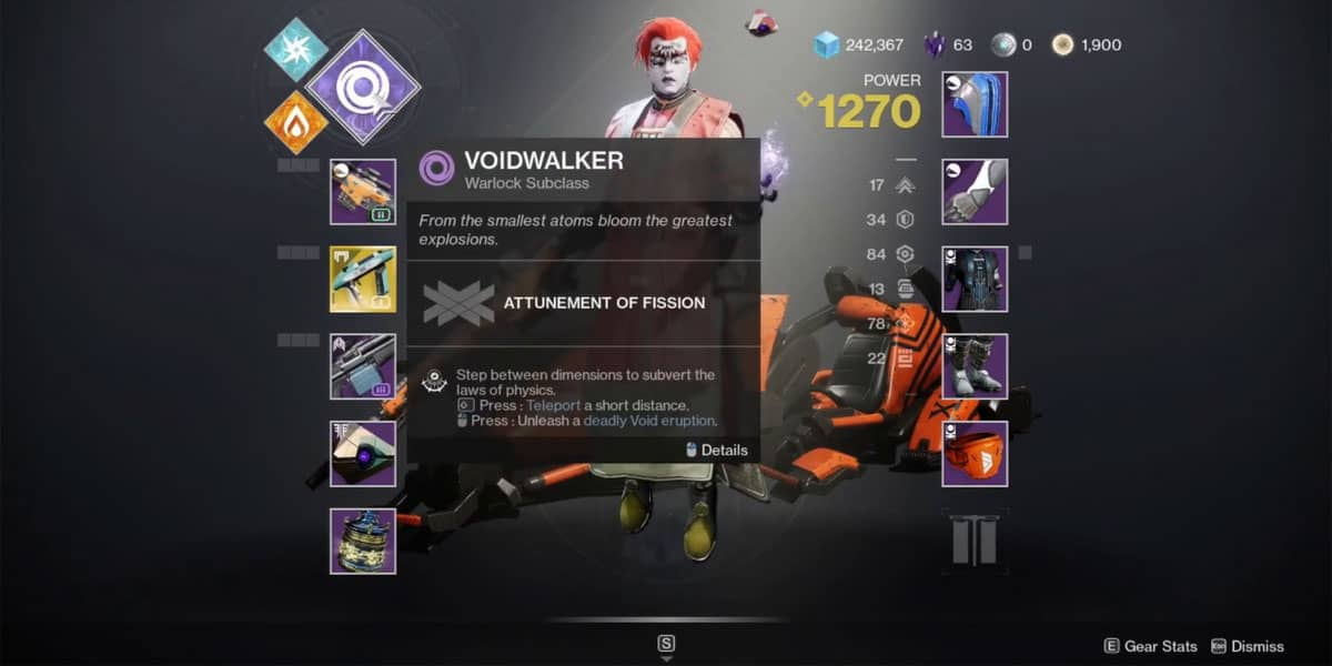 How to Know The Currently Active Elemental Burn In Destiny 2