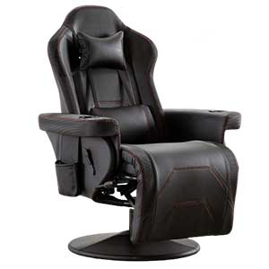 Merax game chair with cup holder