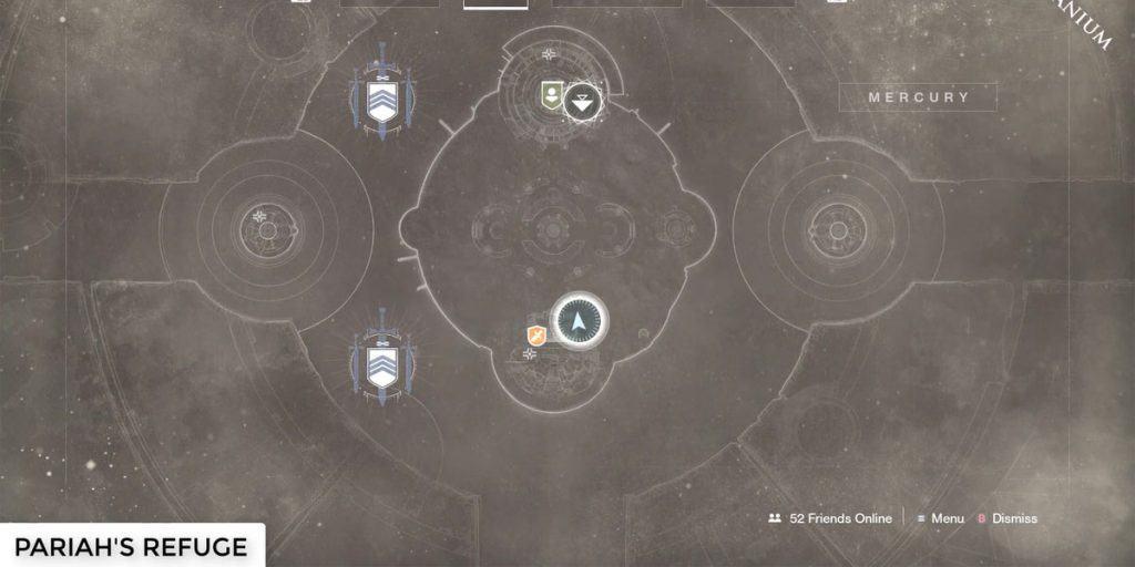 Mercury Lost Sector