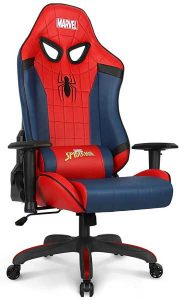 Neo Chair Ergonomic Racing Style Chair  for Short People Marvel Avengers Edition