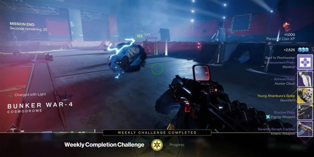 Nightfall Exclusive Loot Rewards