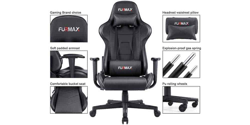 Notable Features of Furmax ergonomic gaming chair