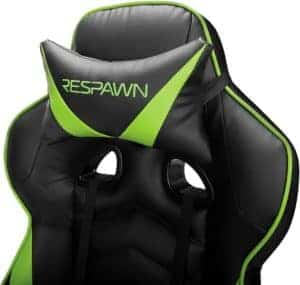 Respawn 110 Gaming Chair Headrest Feature