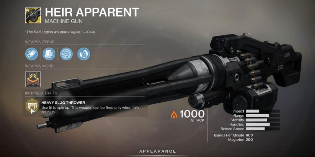 Season Of The Worthy: List Of Exotic Weapons
