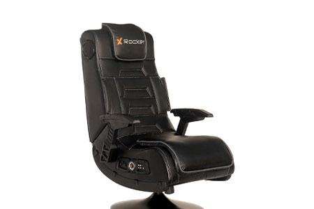 X Rocker Pro Series 2.1 Foldable Vibrating Gaming Pedestal Chair