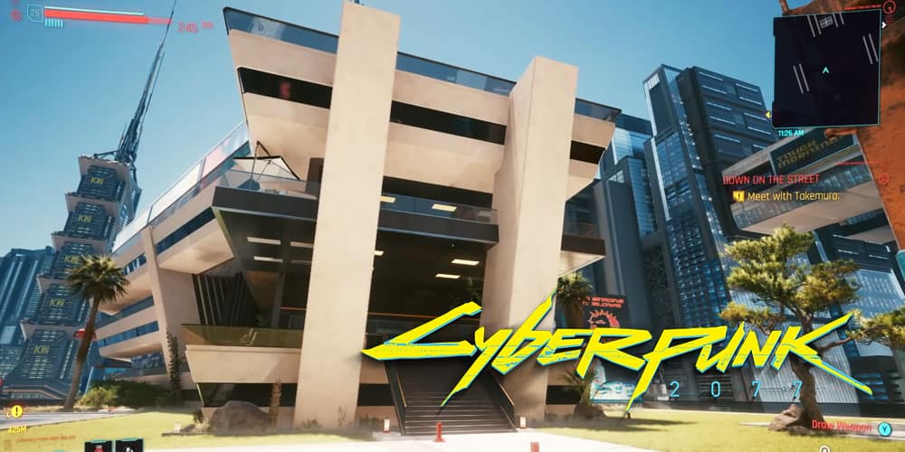 How To Access V's Secret Mansion In Cyberpunk 2077