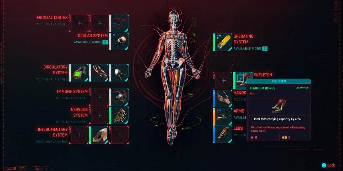 Best Cyberpunk Cyberware