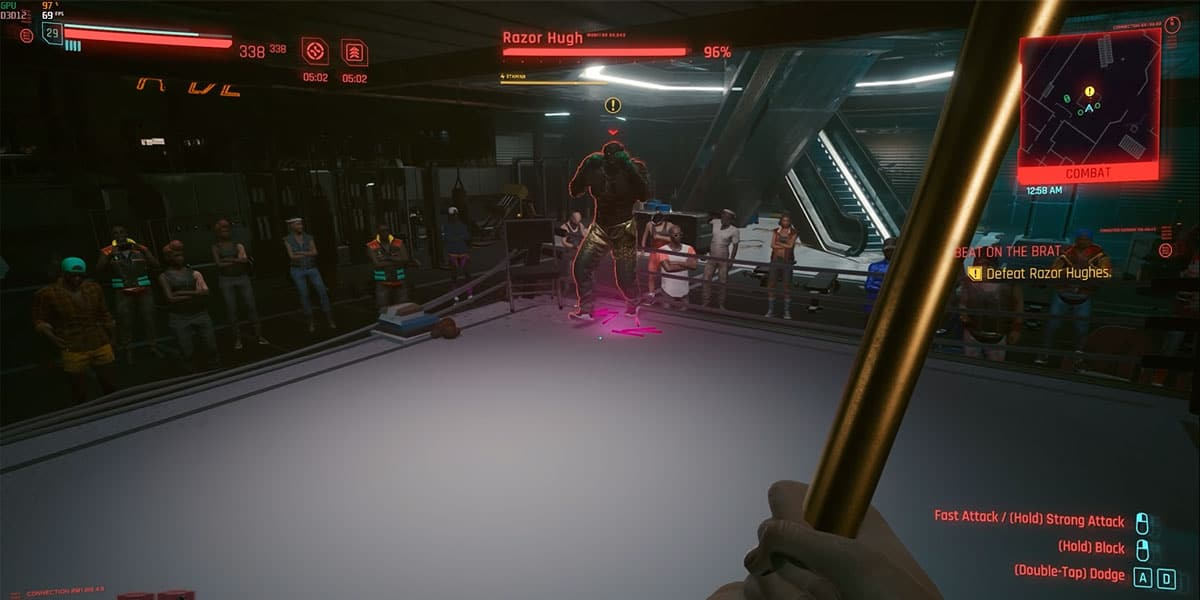 How To Beat Razor In Cyberpunk 2077?