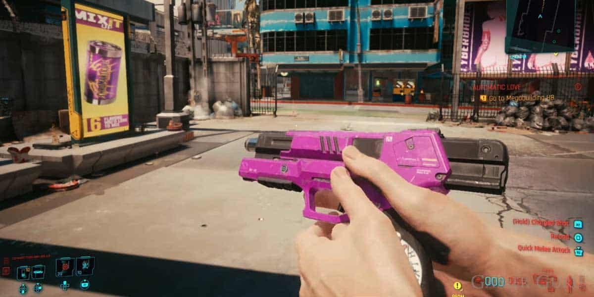 How To Get The Lizzie Weapon In Cyberpunk 2077