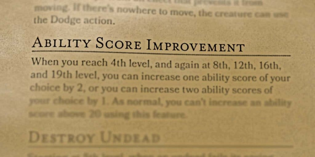 How To Improve Ability Scores In DnD 5e