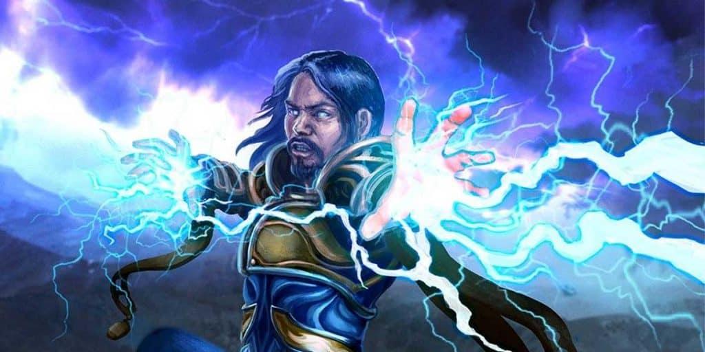 Lightning Bolt Sorceror Speel DND 5e