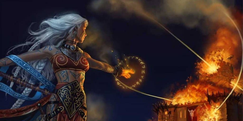 Meteor Swarm - Sorceror Spell DND 5e