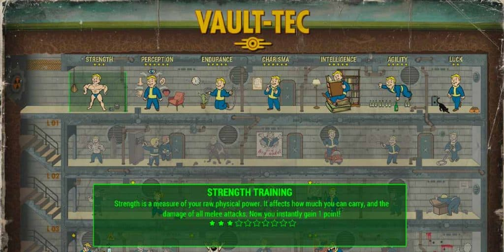 Automatic Weapon Build Perks fallout 4