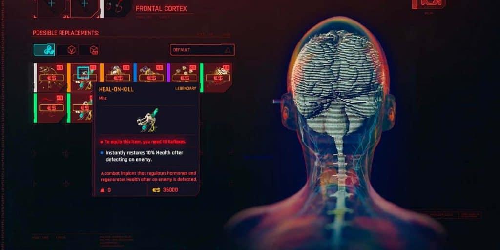 Heal On Kill Cyberpunk 2077