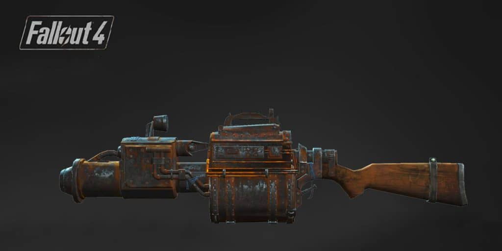 The Railway Rifle Fallout 4