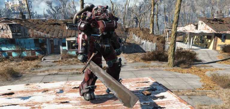 Fallout 4 Heavy Weapon Build